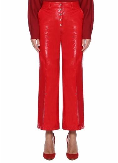 Sara Battaglia Pantolon Kırmızı